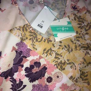 Umgee short yellow floral summer dress